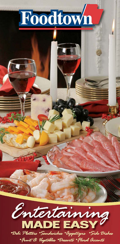 A image of holiday catering