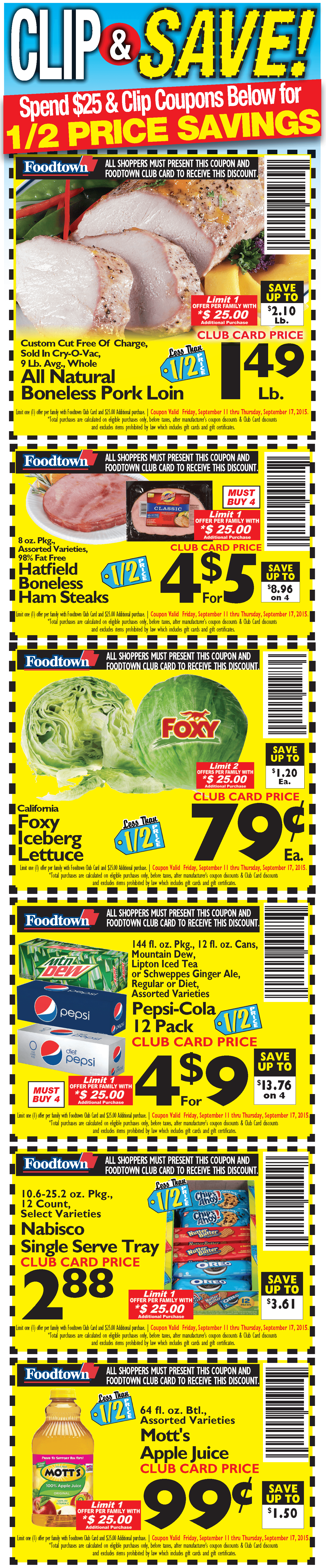 Clip & Save Coupons