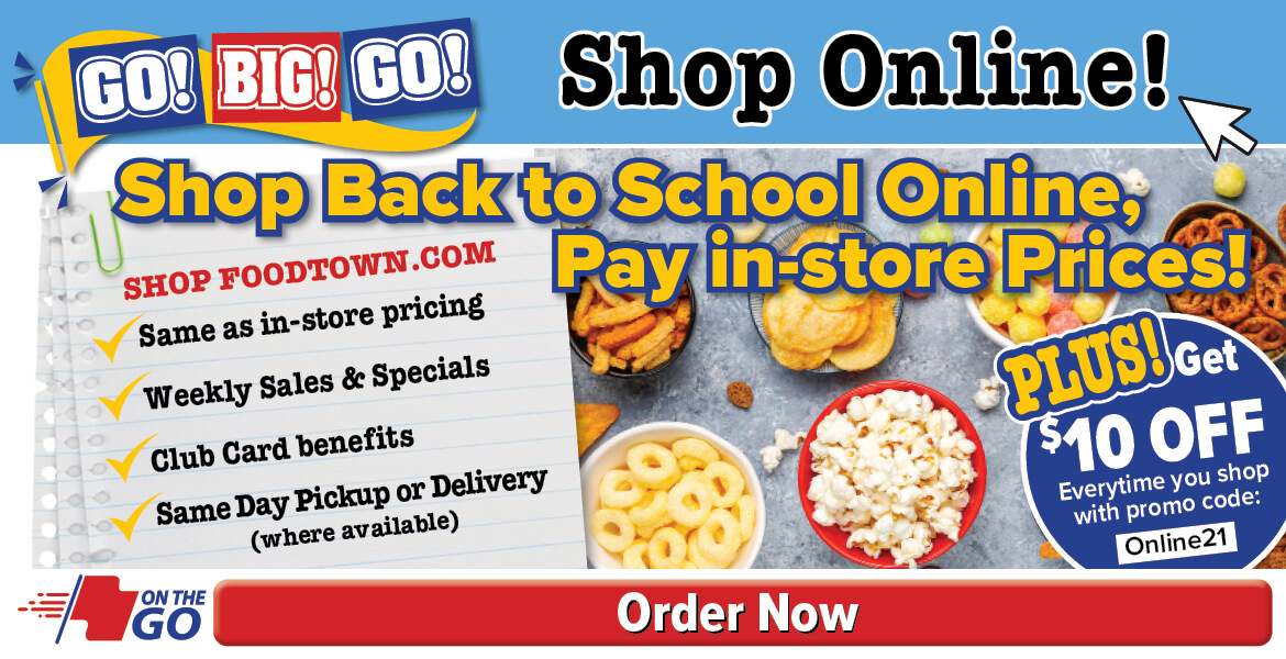 Advertisement for Online Shopping for Back to School
